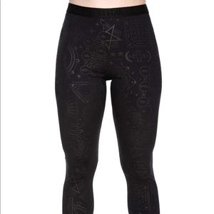 Exercise Your Demons Workout Leggings